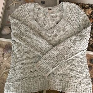 Free People Boucle sweater XS